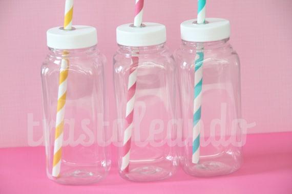 Items Similar To Kids Party Milk Bottles Kid Milk Jugs