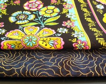 Destash Cotton Fabric Bundle - Flowers