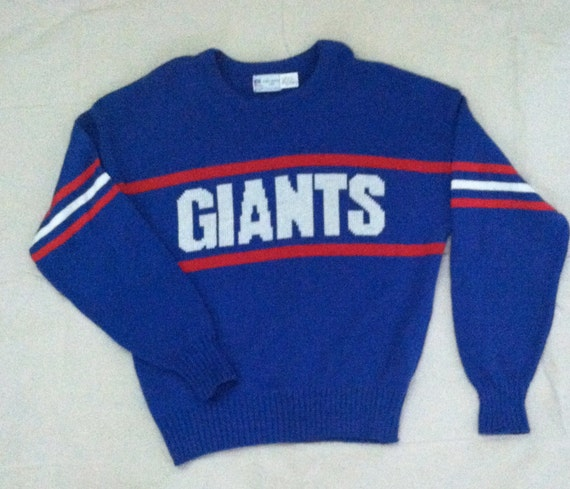 vintage giants sweater