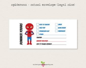 school money template