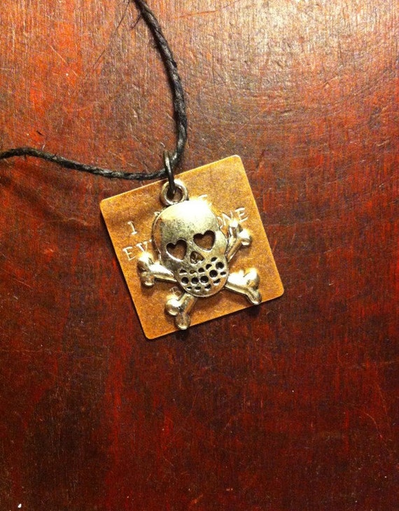 Skull I Love Every Bone In Your Body Hand By Charmedquotations