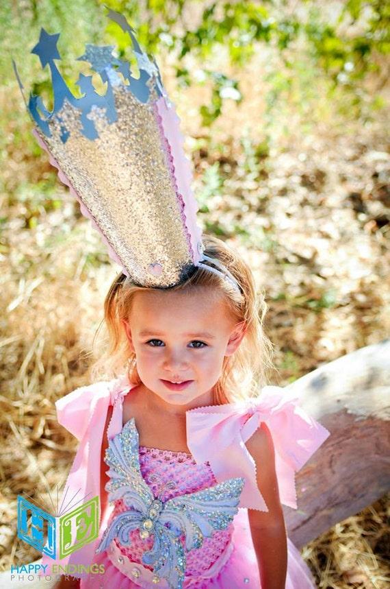 Glinda Costume Wizard of Oz Good Witch Glinda Crown Tutu
