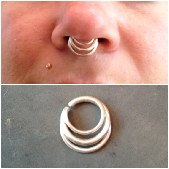 Septum rings, septum clickers, septum retainers, & septum plugs lots of options with great prices & service.