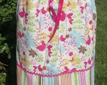 Floral Print Aline Skirt