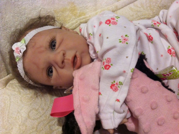 Now on Sale...reborn baby girl Tory by Michelle Fagan reborn by Michele Bouille available for adoption