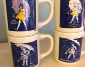 Morton Salt Coffee Mugs