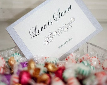 Wedding or Party Favor Signs