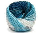Knitting Yarn // Winter Yarn // Craft Supplies // Crochet Yarn // Acrylic Yarn // Sock Yarn // Scarf Yarn // Blanket Yarn // turquoise yarn