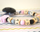Pacifer holder, pacifier clip, owl, baby pacifier clip, baby gift, girl pacifier holder, soothe pacifier clip, baby gift, soother clip, baby