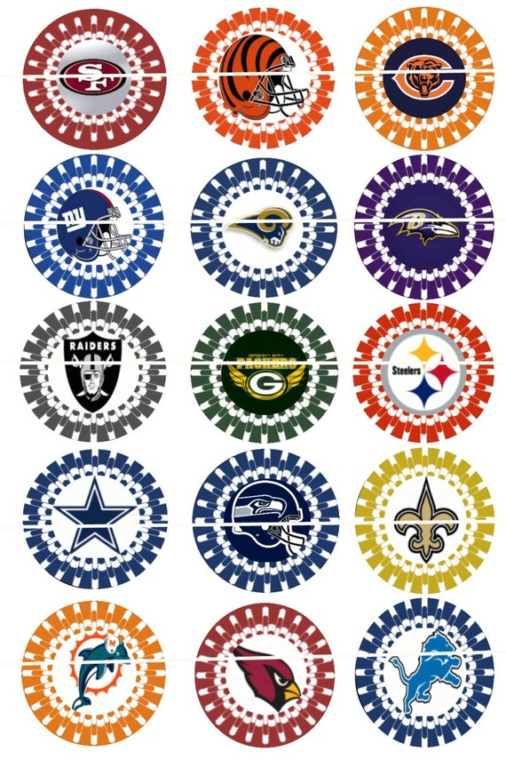 Comprehensive image pertaining to printable nfl logos