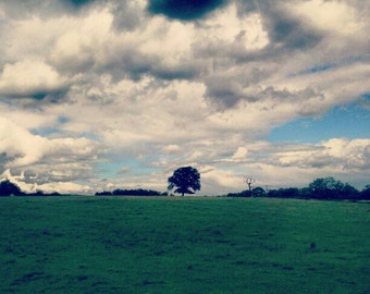 Landscape miniature photography - English Countryside