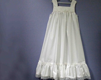 Girls Cotton Daisy Maxi,  size 8, 10, 12   and Plus Sizes, custom made