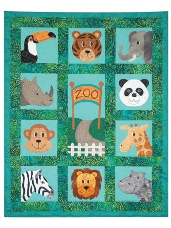 Jungle Animal Crib Jungle Animal Toddler Quilt Panda