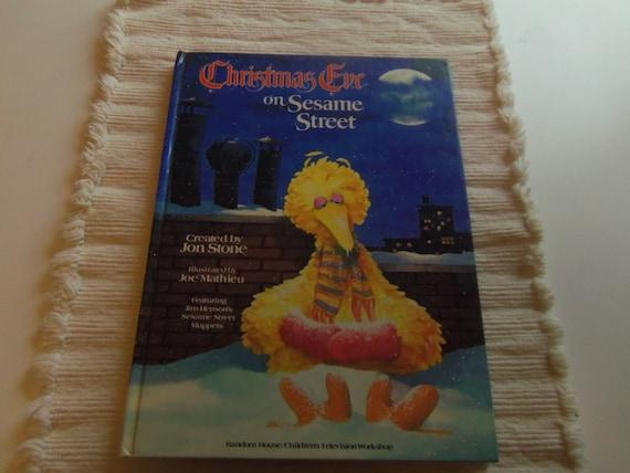 Christmas Eve On Sesame Street 1981 Collectible