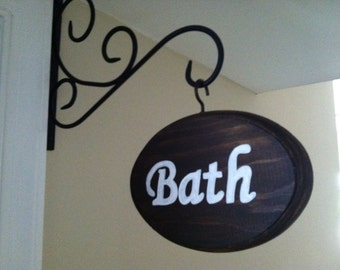 Adorable Bath Sign (5x7)