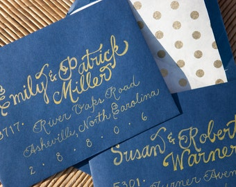 Calligraphy Envelope Addressing Wedding - Place Cards, Escort Cards, Invitations, Signs, Menus