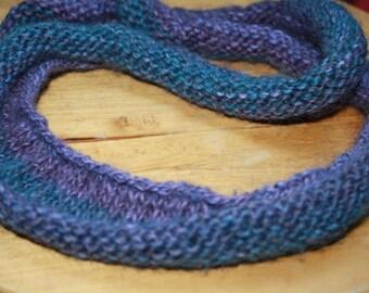 SALE Blue and lavender dread wrap