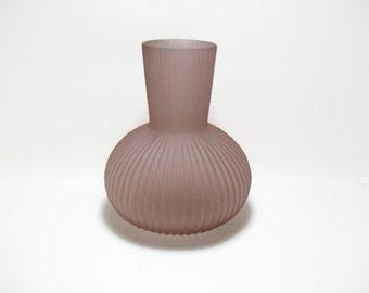 Modern Textured Glass Vase