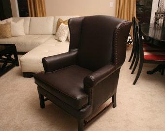 Manhattan Wingback Chair