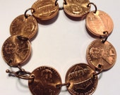 For Etsymarjy, Custom Wheat Penny bracelet (Not Pictured)