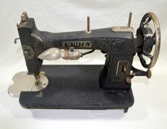 white sewing machine model 1927