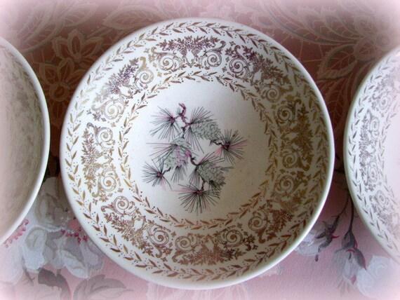 Vintage China Pine Cone Patterns - Patterns Kid