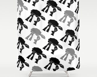 Popular star wars shower curtain etsy myideasbedroom com