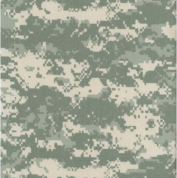 Army Woodland Digital Camouflage Nylon Cotton Twill Fabric