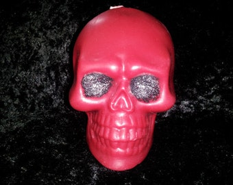 Custom Skull Candle