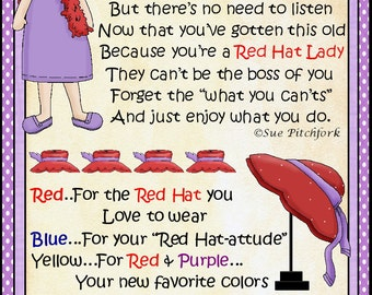 Red Hat Lady MM