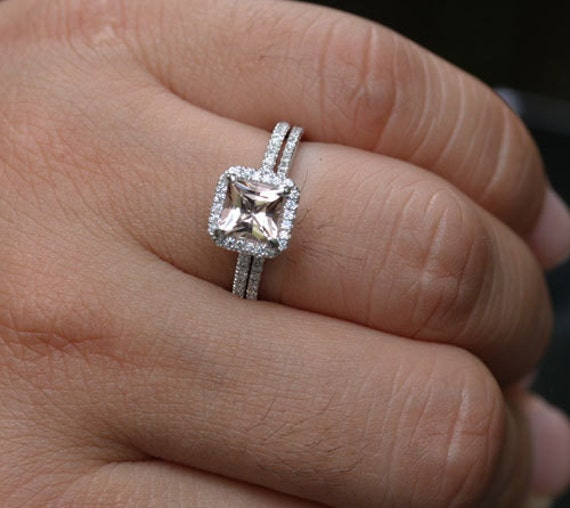 like this item - Princess Cut Diamond Wedding Ring Sets