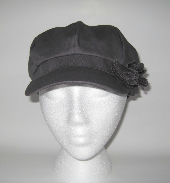 baseball cap hair attached chemo hat women grey newsboy perfect lost due chemotherapy