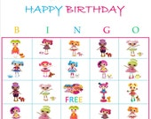 Lalaloopsy Personalized Bingo