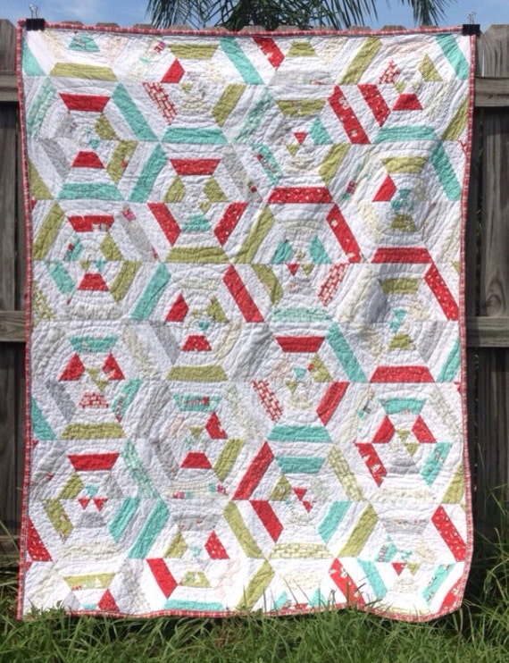 Christmas Spiderweb Quilt