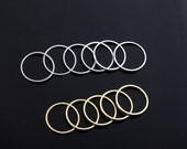 Gold-Silver Thin Band Rings. Midi Knuckle Rings