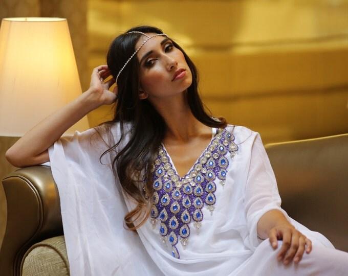 "Yara Yosif ""Yolanda"" - Bridal Eid Adha Henna Kaftan caftan Dubai abaya hijabi plus size maxi dress"