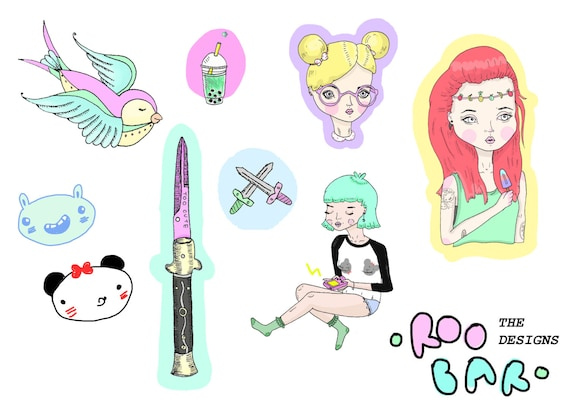 Miscellaneous Sticker Pack