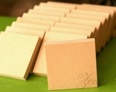 MDF Wood Squares 20 Count  1/2 Inch Wood Blocks Craft Squares Woodcrafts Wood Plaques