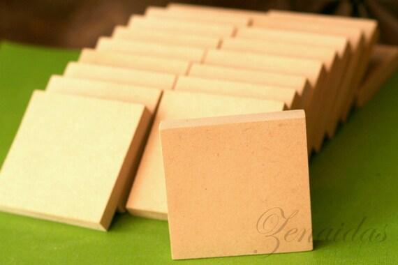 mdf wood squares 20 count 1 2 inch wood blocks craft squares. Black Bedroom Furniture Sets. Home Design Ideas