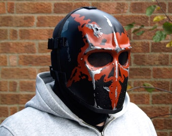 Army of Two v1 Style Airsoft Mask 666 - Made to order -