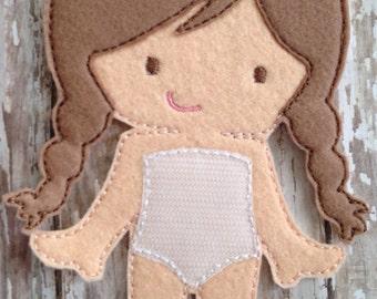 Felt Marie Doll