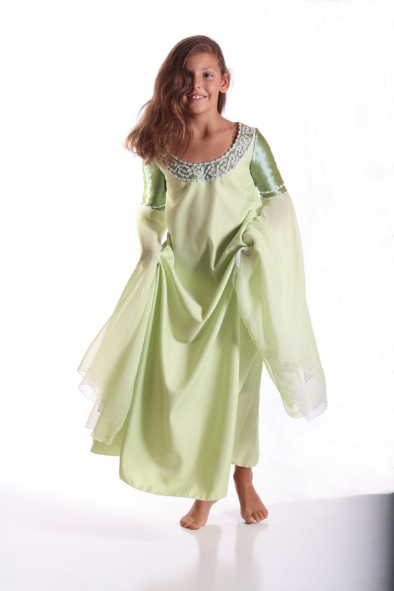 Arwen Dress Costume Arwen Halloween Costume Girls