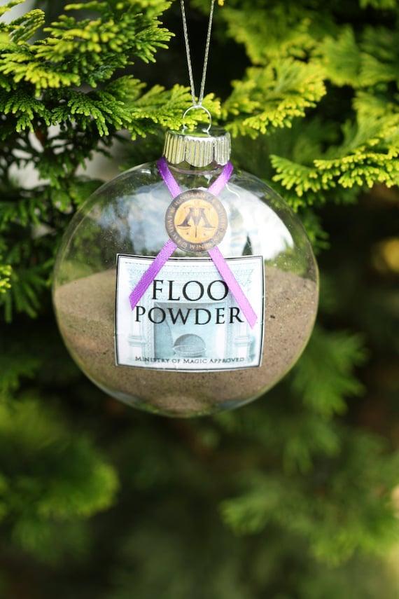 items similar to harry potter christmas ornament floo