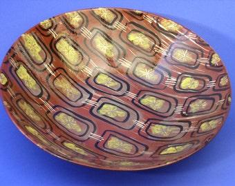 Marc Bellaire Mid Century Bowl California Pottery Ceramic 1950s Modern
