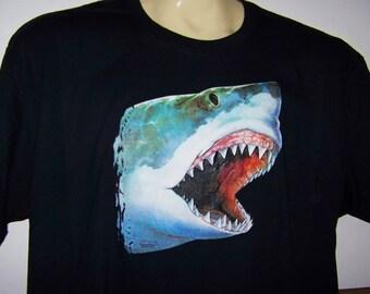 Great white shark | Etsy