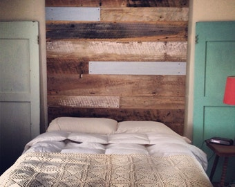 Reclaimed Wood Headboard (tall)