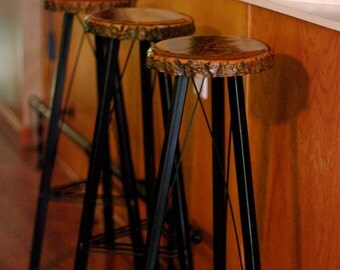 Bar Stools (Handmade)