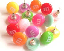 Candy Earrings Kawaii Kids accessories Children's jewelry Costume studs available in 14 colors