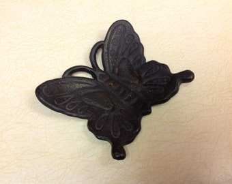 Black Wrought Iron Butterfly