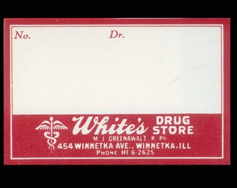 9 Vintage, Blank Drug Store Labels - Collage, Mixed Media, Scrapbooking, ATC